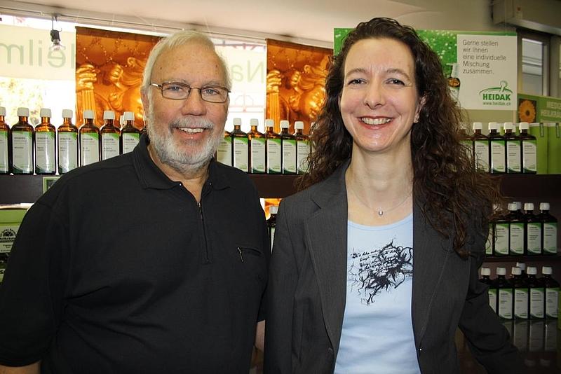 Erwin Horlacher und Esther Bernet